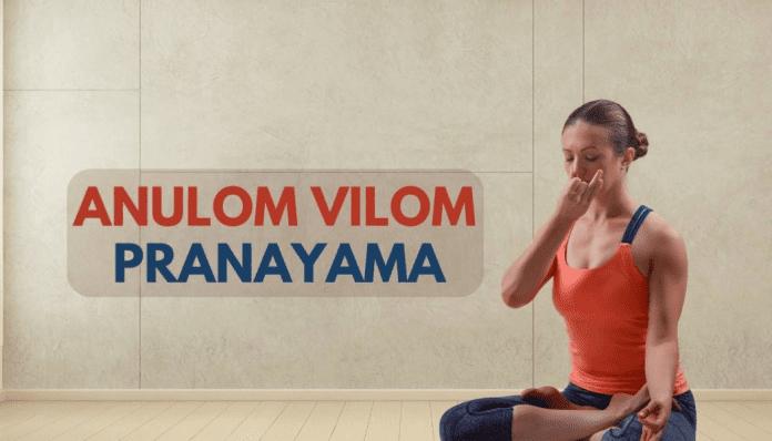 Anulom Vilom Pranayam yoga asana